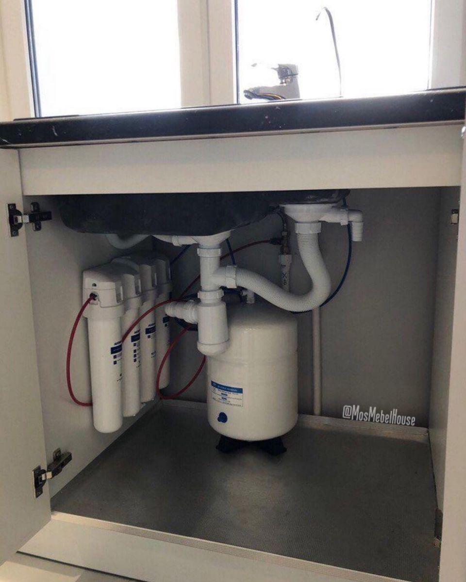 Подводка фильтра для воды