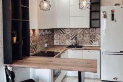 Объединение кухонной зоны с гостиной